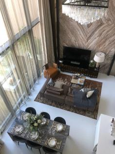 , Two bedroom duplex in Vittorio Sukhumvit 39 for sale nearby The EmQuartier, Phrom Phong BTS